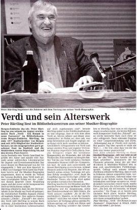 Verdi und sein Alterswerk
